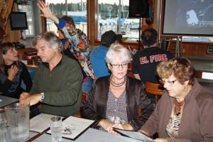 Elaine Bob Joyce Laura Mary 85