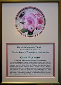 Garth's Award 90